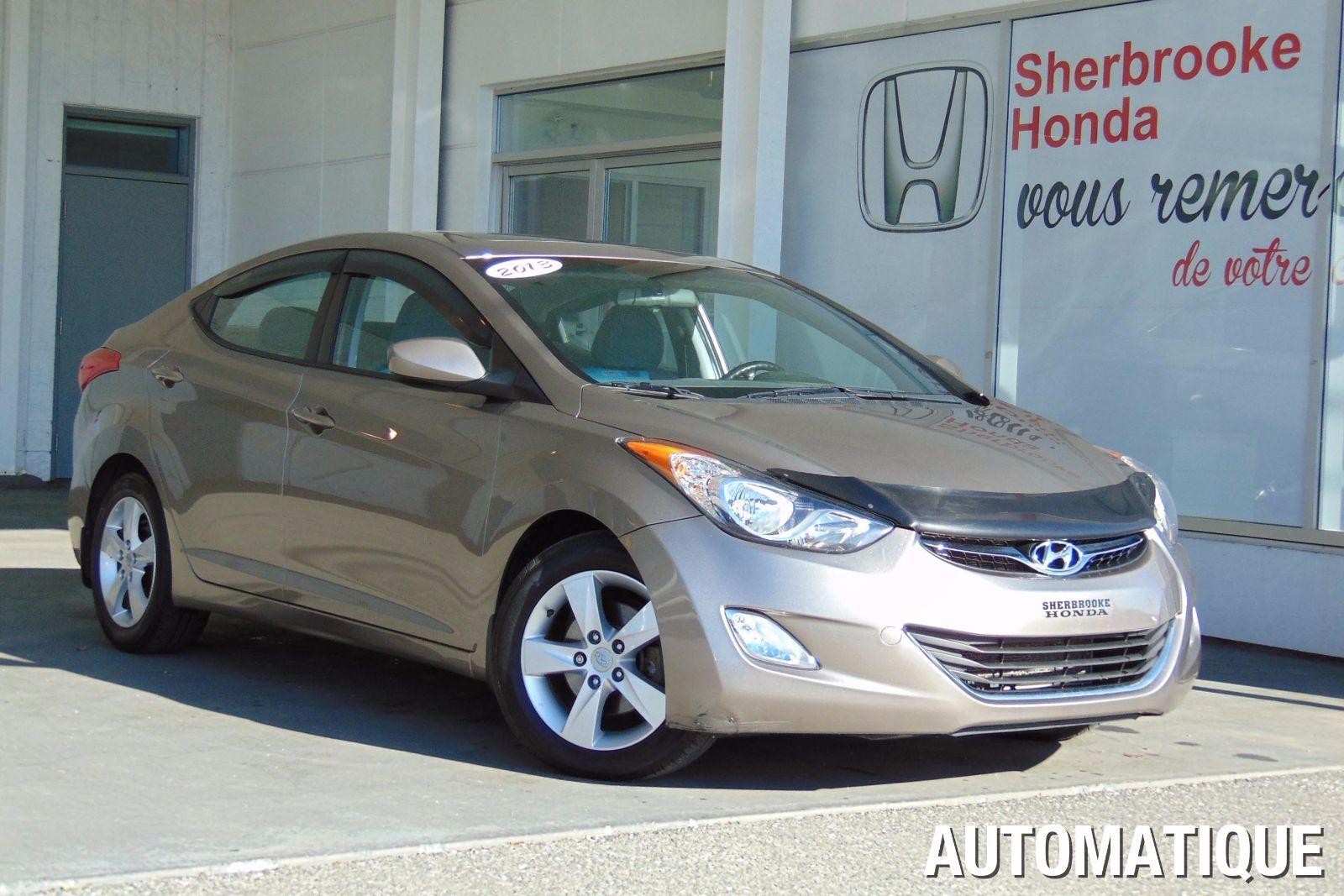 Pre Owned 2013 Hyundai Elantra Gls In Sherbrooke Pre