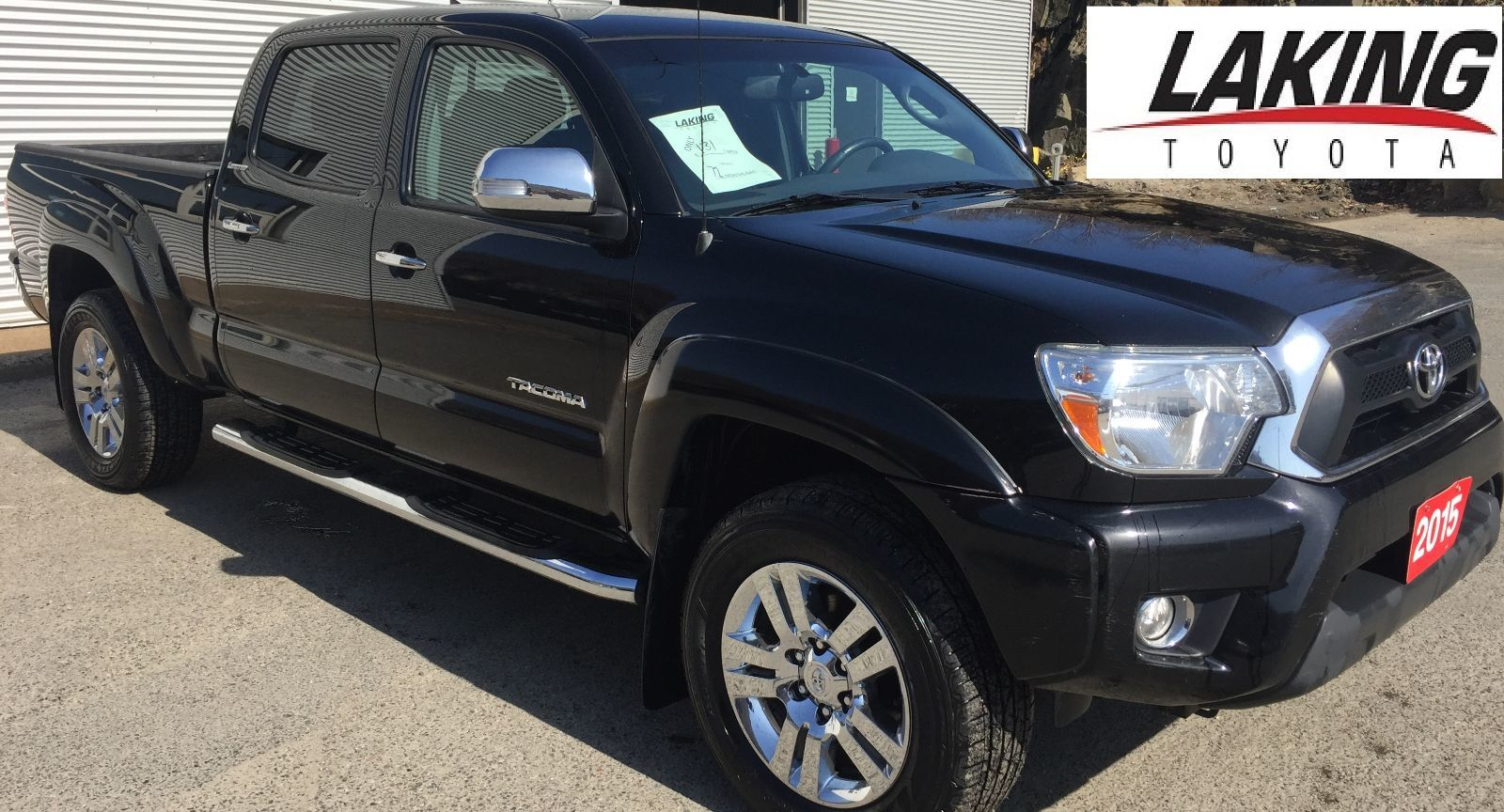 used 2015 toyota tacoma limited 4x4 double cab navigation. Black Bedroom Furniture Sets. Home Design Ideas