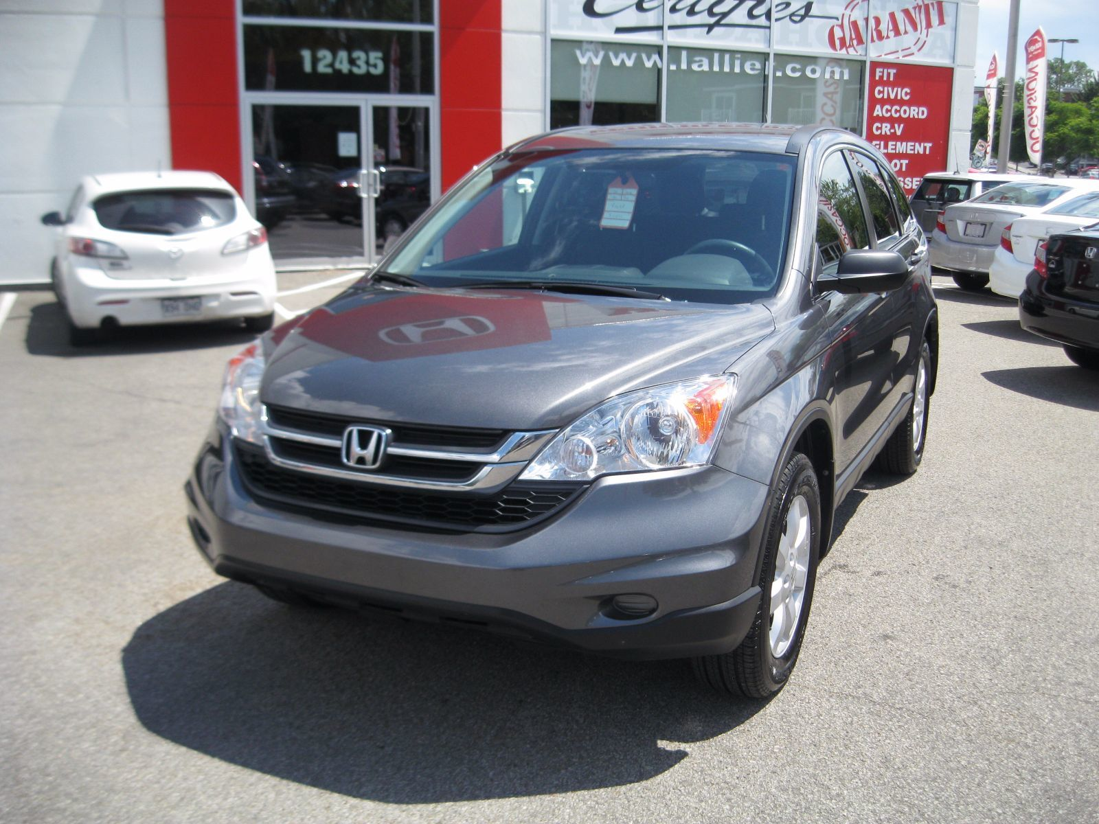 Pre owned 2011 honda cr v lx lallier honda montreal in for Honda financial services payment login