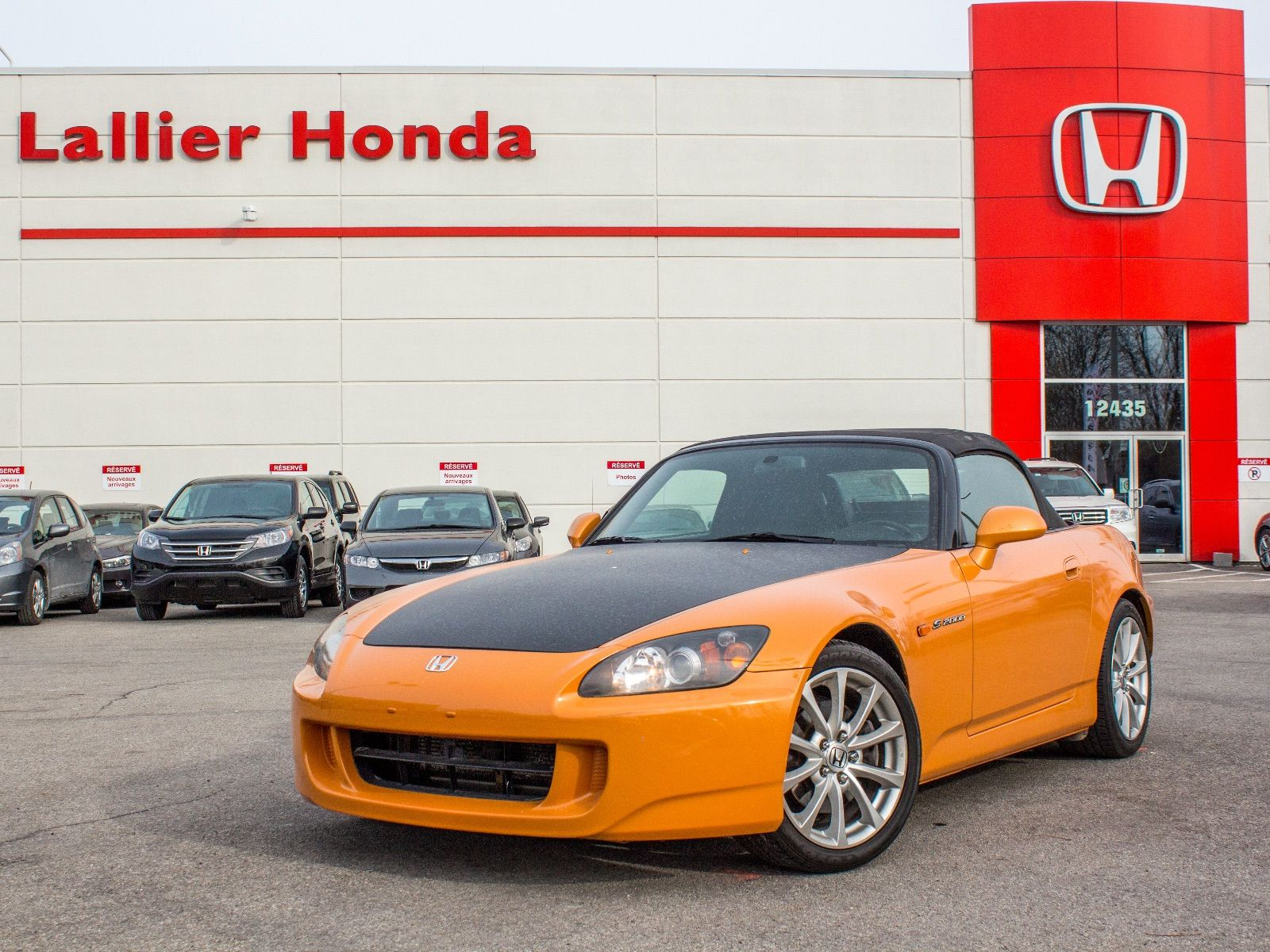 honda s2000 canadienne 2007 d 39 occasion lallier honda montreal. Black Bedroom Furniture Sets. Home Design Ideas
