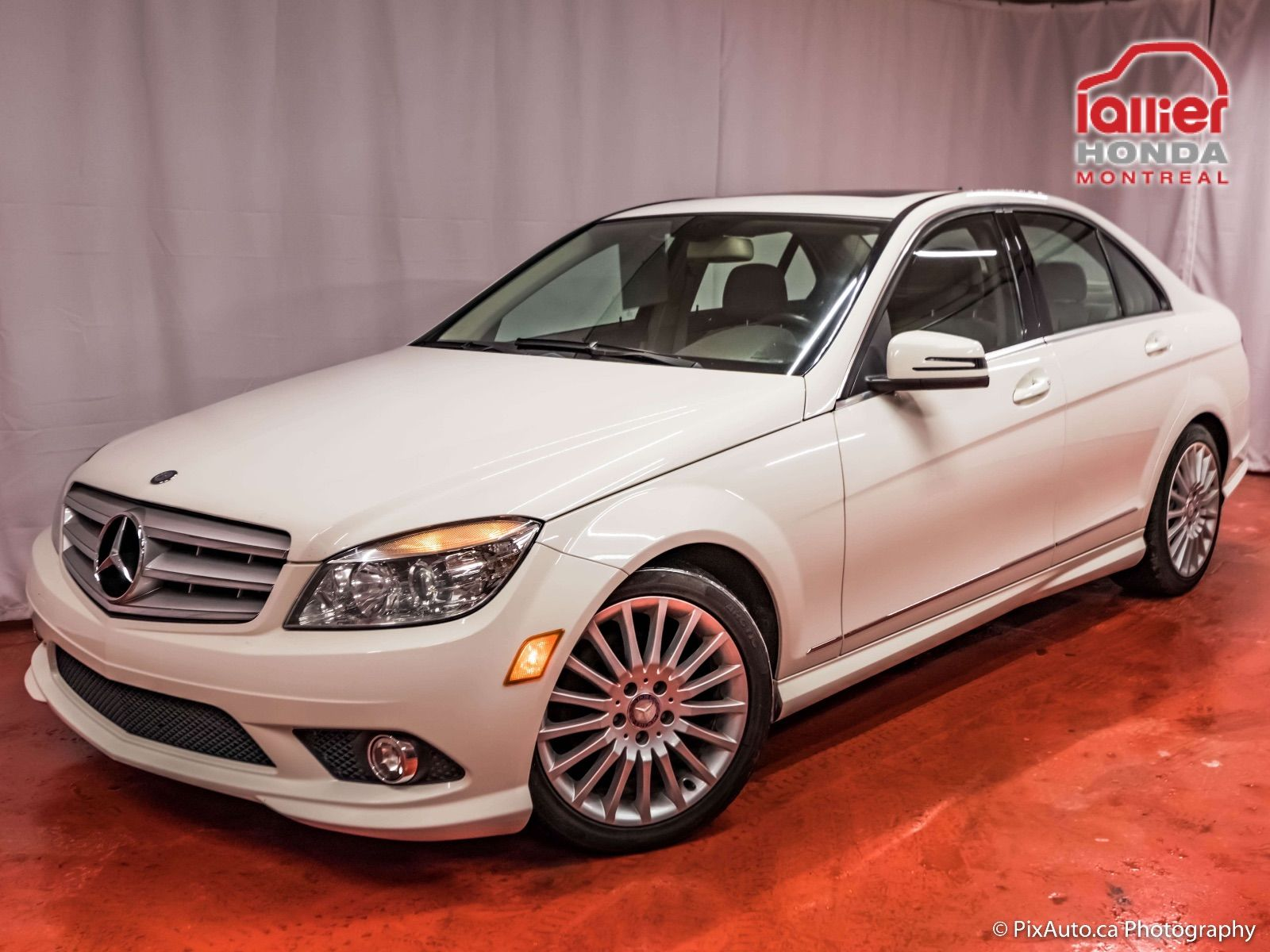 Pre owned 2010 mercedes benz c class c 250 4matic lallier for Mercedes benz montreal