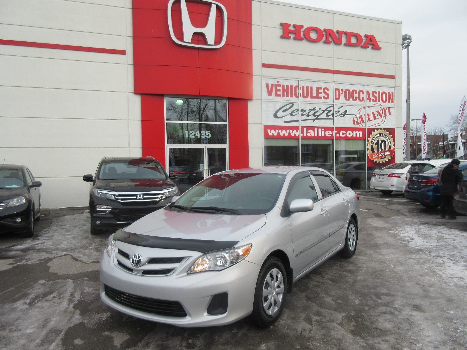 Pre Owned 2013 Toyota Corolla Ce Lallier Honda Montreal In Montral Door Lock Parts Diagram Moreover R