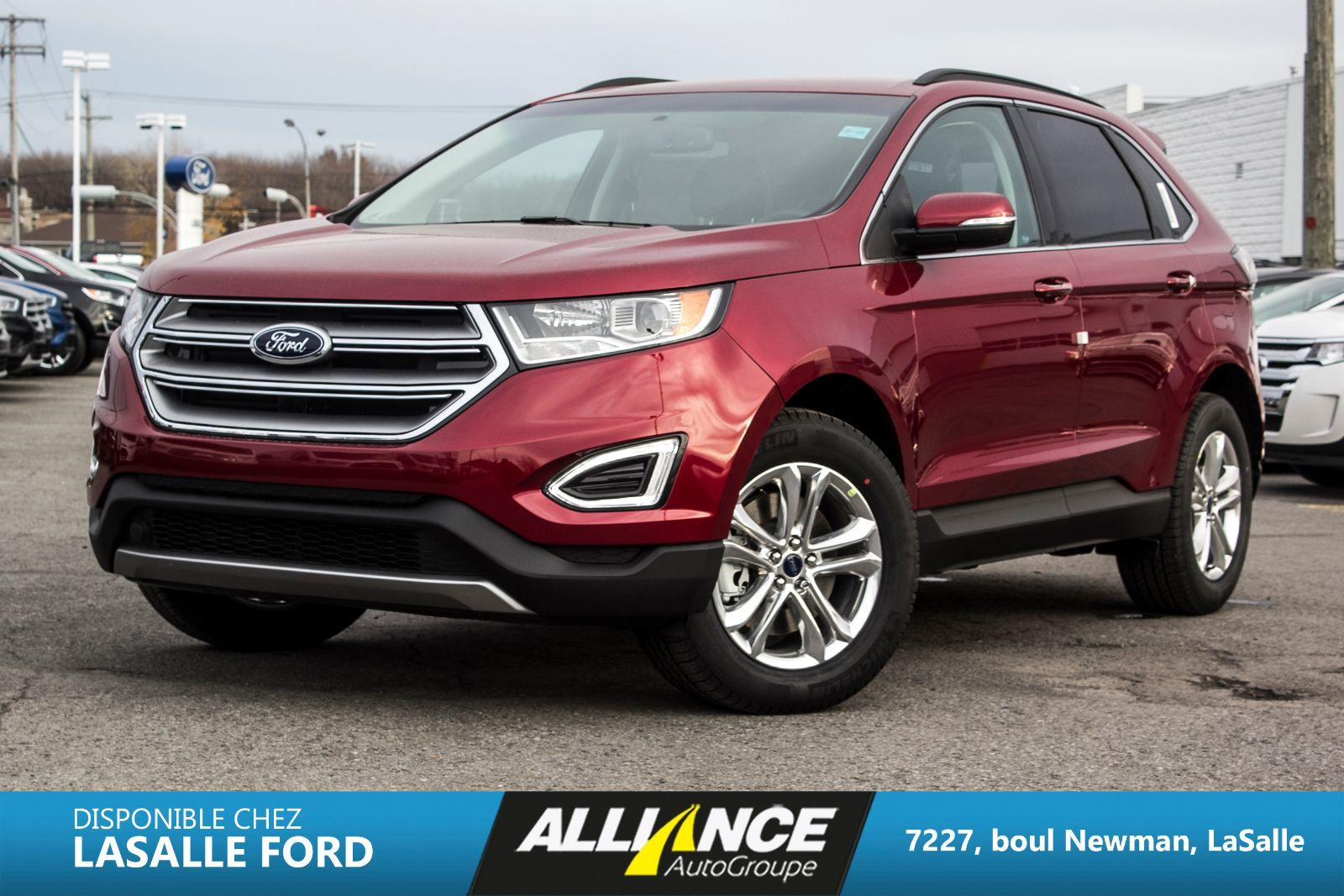 new 2016 ford edge sel for sale in montreal alliance autogroupe in montreal quebec. Black Bedroom Furniture Sets. Home Design Ideas
