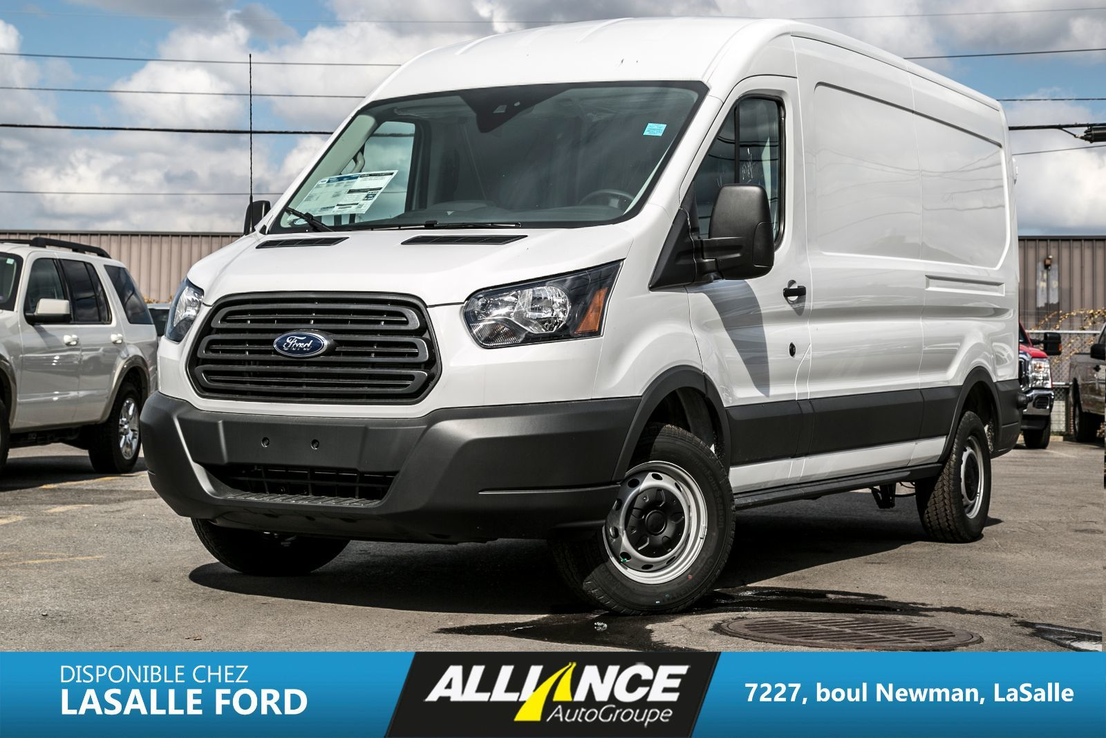 ford transit fourgon utilitaire 2016 neuf en inventaire vendre lasalle lasalle ford. Black Bedroom Furniture Sets. Home Design Ideas