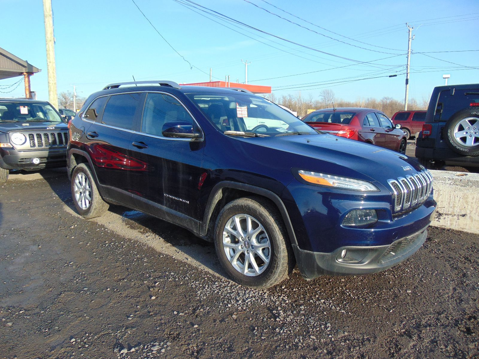 used 2014 jeep cherokee north for sale in montreal lasalle ford. Black Bedroom Furniture Sets. Home Design Ideas