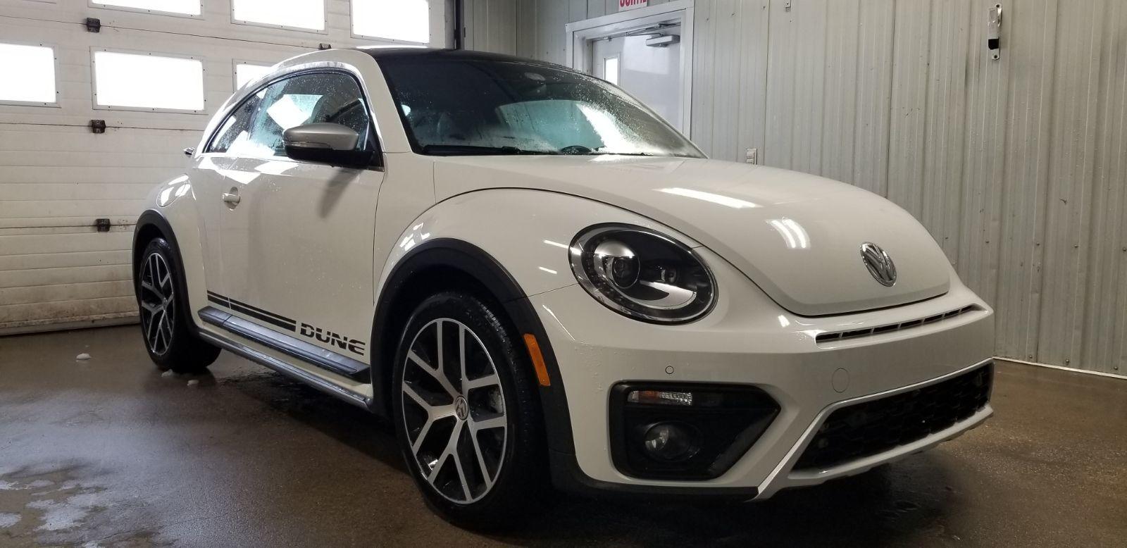 Used 2018 Volkswagen Beetle Dune 2 0tsi Blanc 4 911 Km For Sale 25985 0 Leblanc Vw 2362a