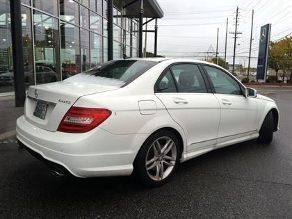 Pre owned 2013 mercedes benz c300 awd parktronic heated for Mercedes benz interest rates