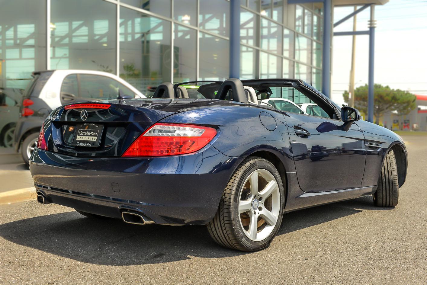 Pre owned 2012 mercedes benz slk250 in ontario used for Mercedes benz slk250