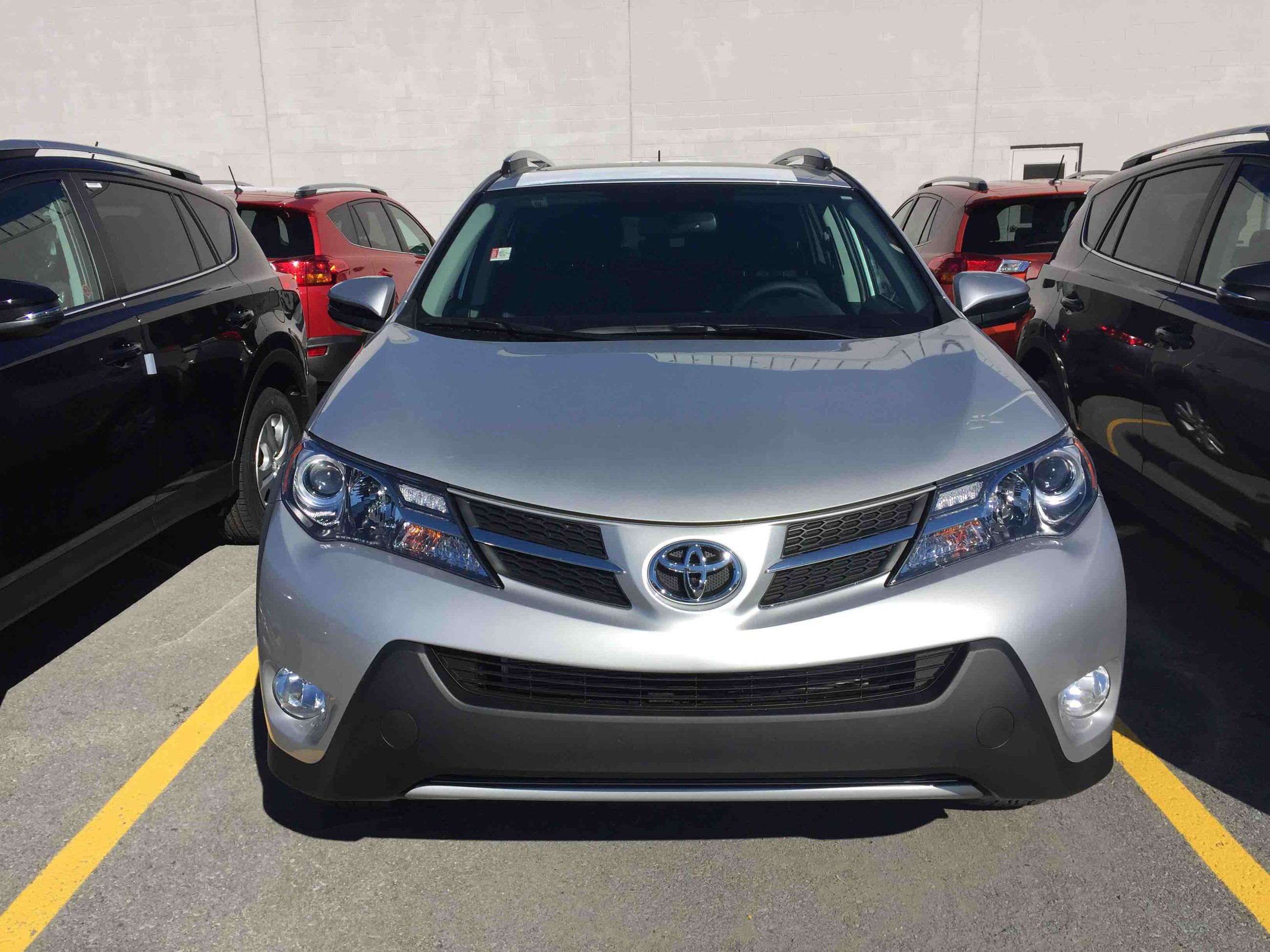 new 2015 toyota rav4 awd limited for sale in kingston kingston toyota in kingston. Black Bedroom Furniture Sets. Home Design Ideas