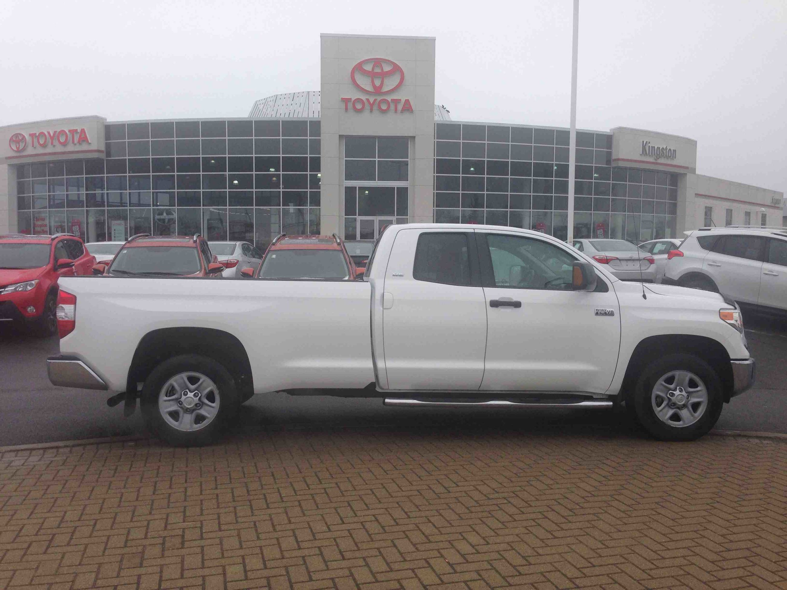 pre owned 2014 toyota tundra 4x4 dbl cab sr long bed 5 7 6a in kingston used inventory. Black Bedroom Furniture Sets. Home Design Ideas