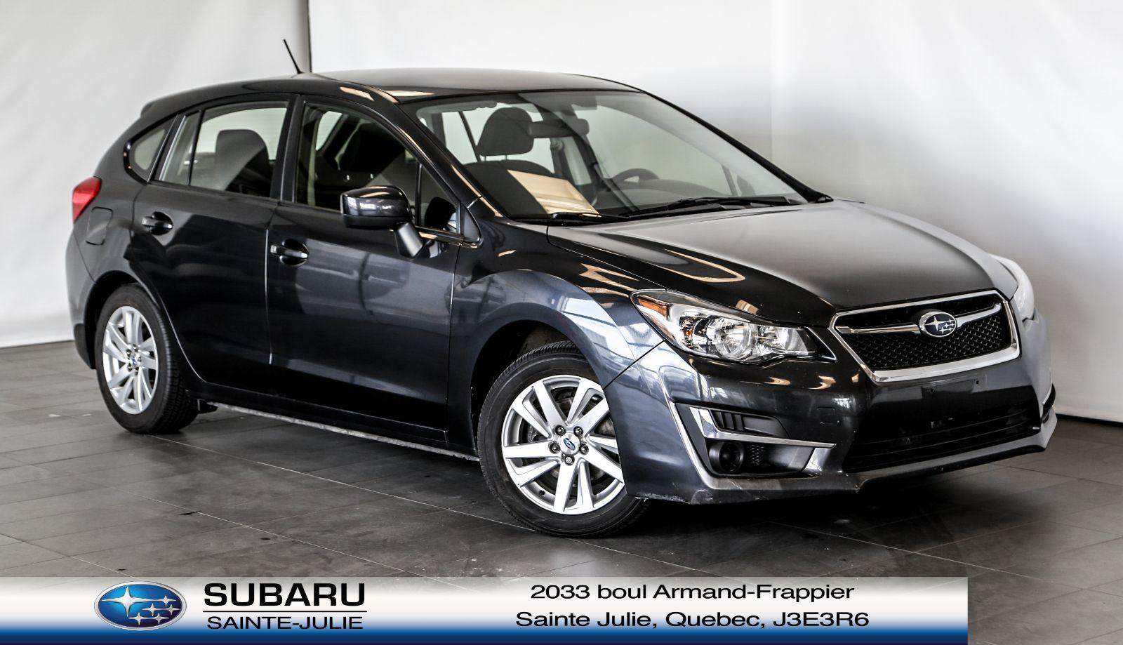 Used 2016 Subaru Impreza 2 0i W Touring Pkg At Subaru Sainte Julie 17 995