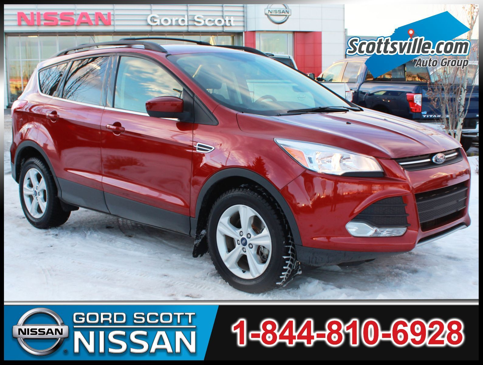 Pre Owned 2013 Ford Escape Se 4wd Heated Leather Nav