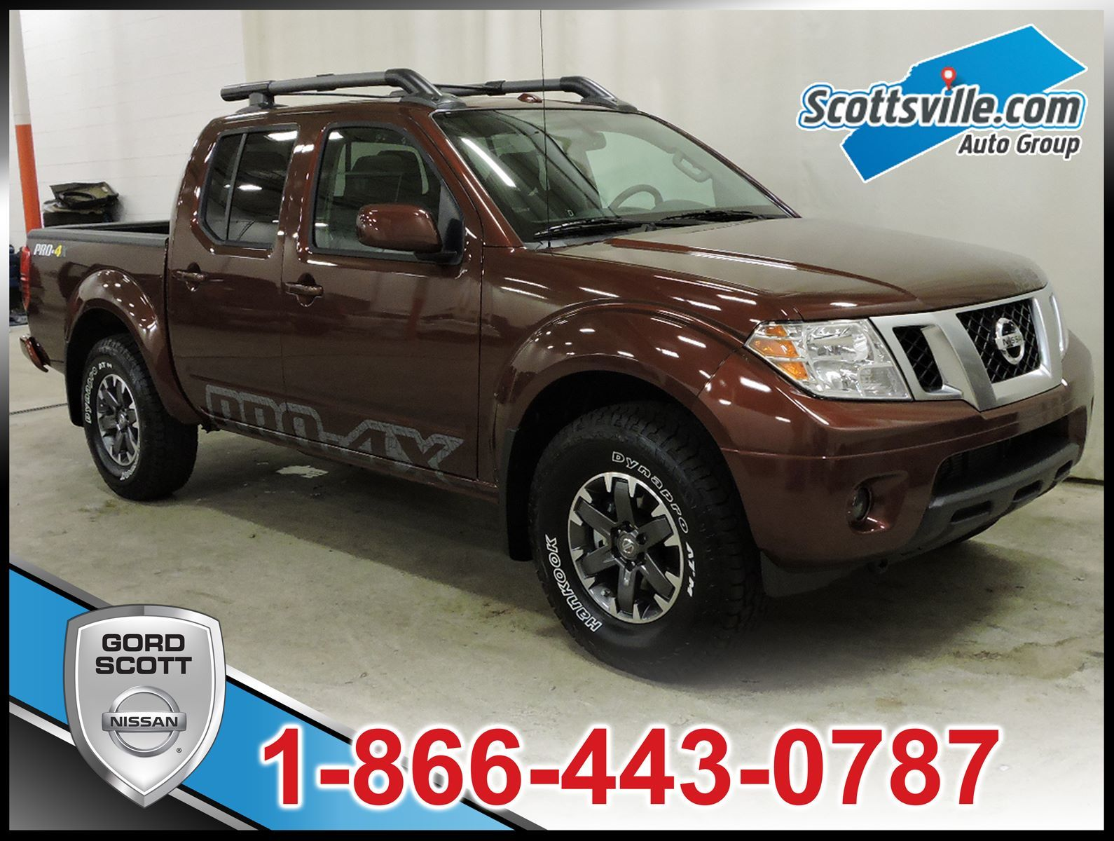 new 2016 nissan frontier pro 4x leather package for sale in red deer gord scott nissan in red. Black Bedroom Furniture Sets. Home Design Ideas
