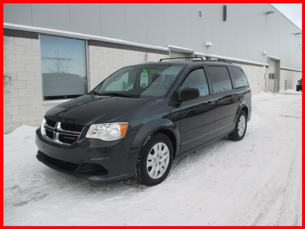 used 2014 dodge grand caravan stow n go bas km in montreal laval and south shore p6704. Black Bedroom Furniture Sets. Home Design Ideas
