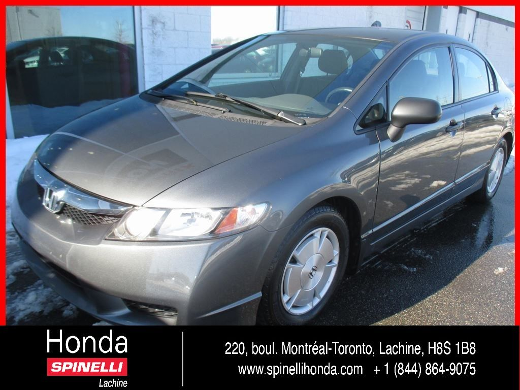 Used 2009 honda civic deal pending dx g bas km for sale in for Honda used inventory
