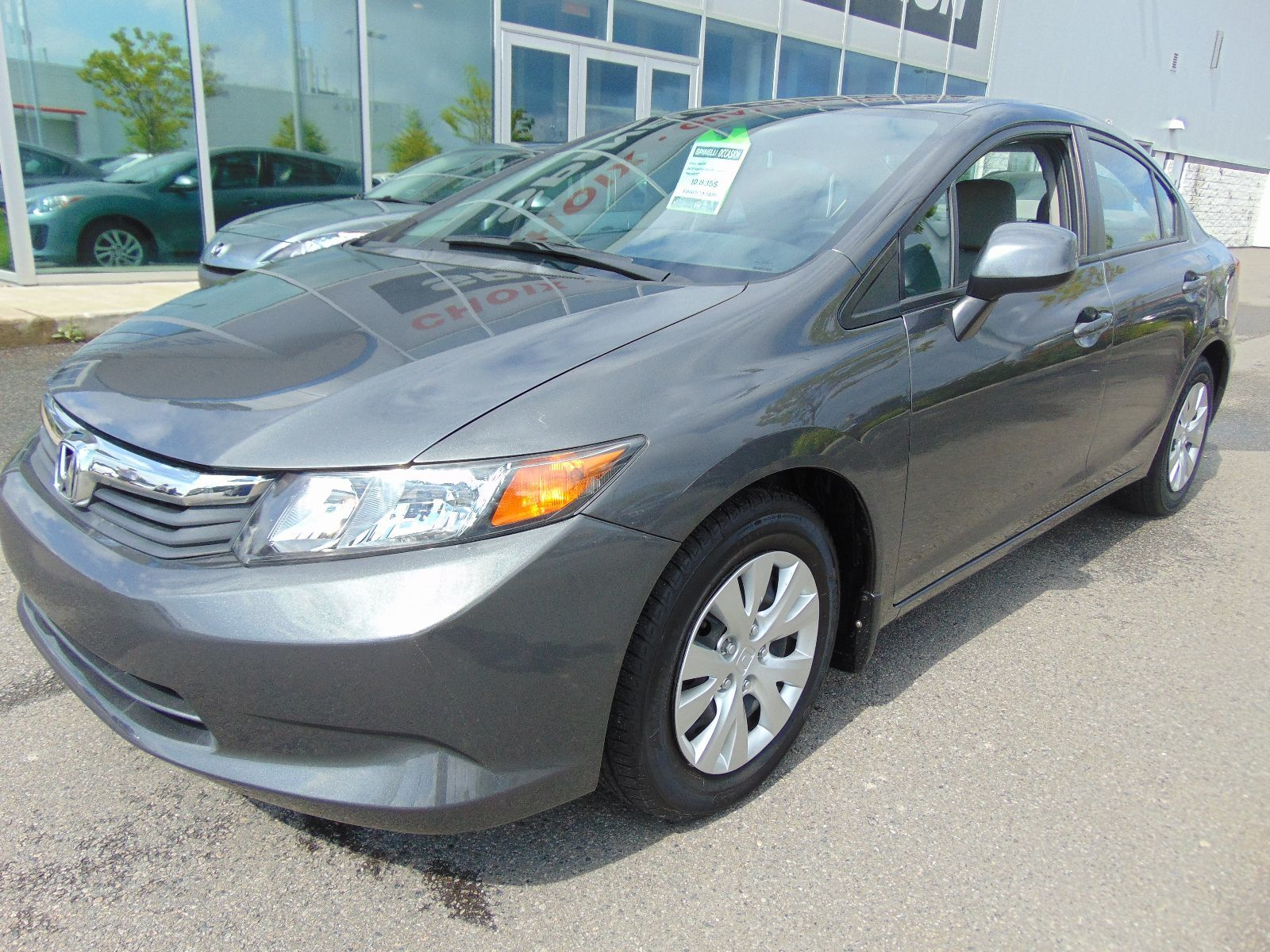 used 2012 honda civic lx auto ac bas km for sale in montreal 96672 spinelli mazda. Black Bedroom Furniture Sets. Home Design Ideas