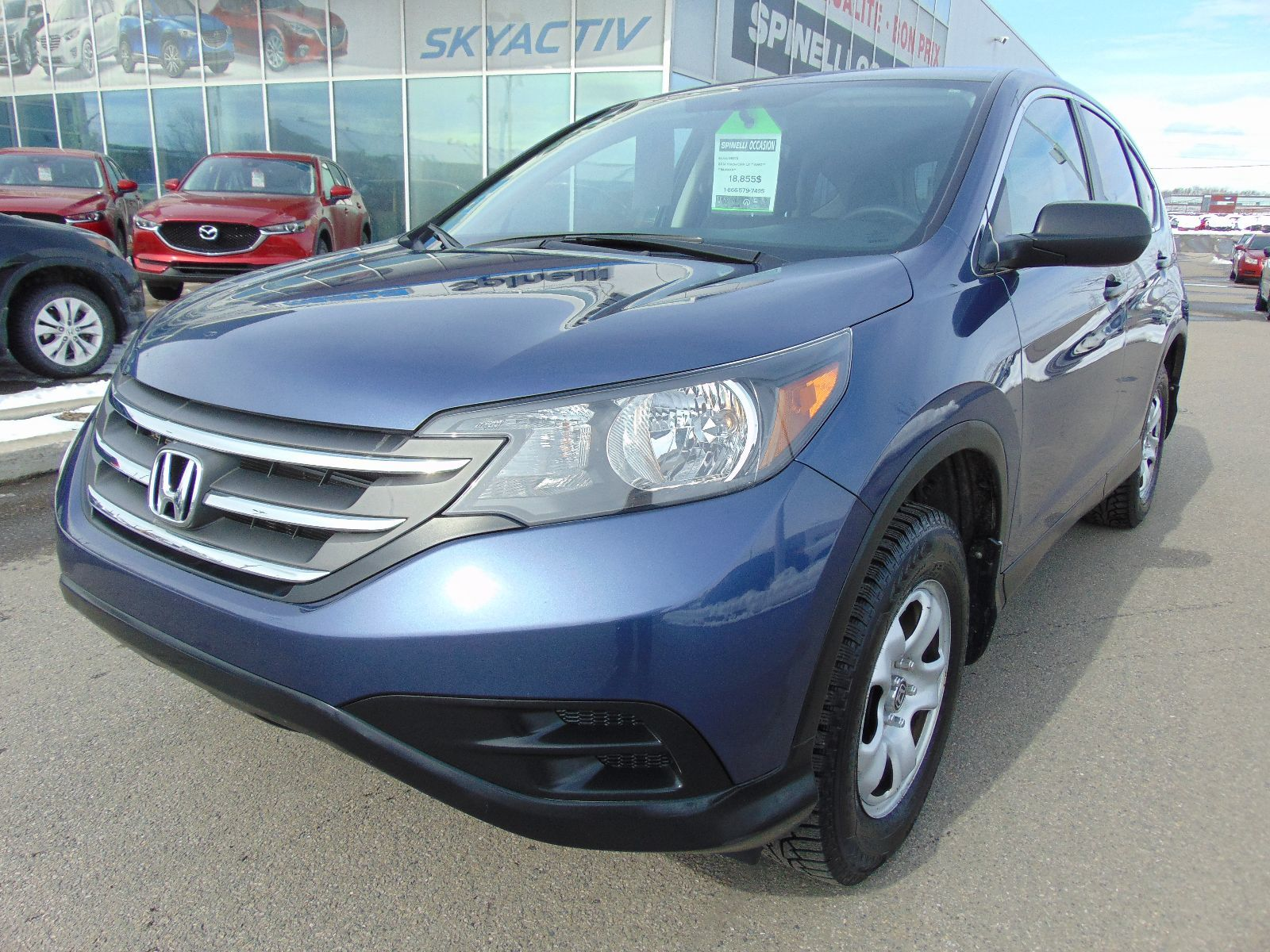 used 2014 honda cr v lx awd bas km for sale in montreal 96872 spinelli honda lachine. Black Bedroom Furniture Sets. Home Design Ideas