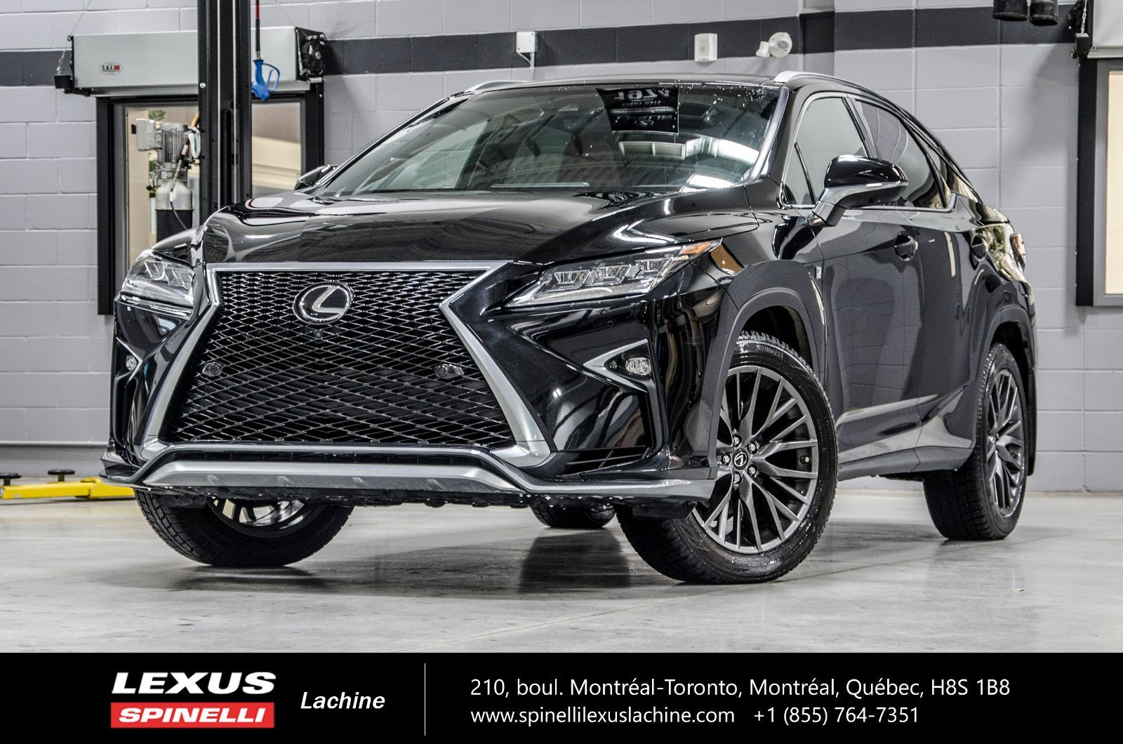 Used 2019 Lexus RX 350 F SPORT III AWD; CUIR TOIT PANO GPS ...