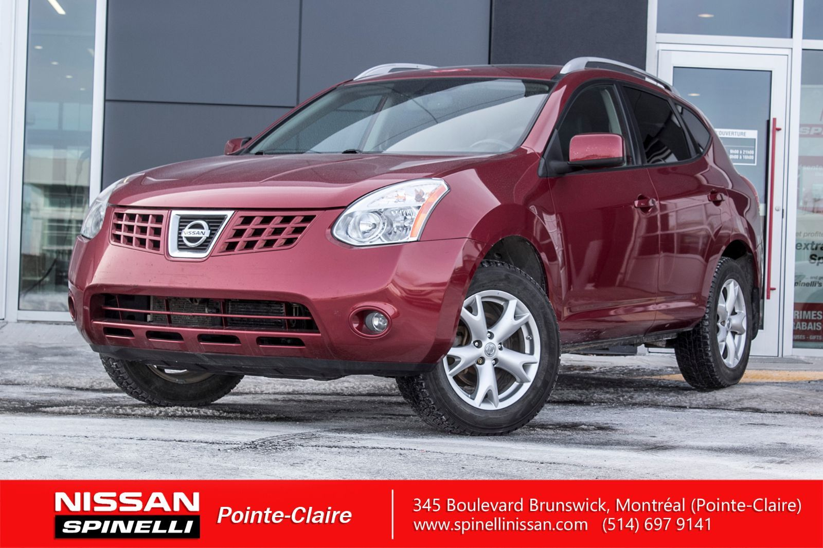 used 2009 nissan rogue sl awd for sale in montreal p7352. Black Bedroom Furniture Sets. Home Design Ideas