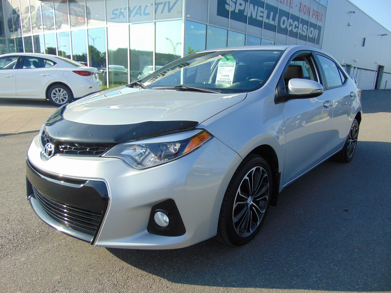 used 2015 toyota corolla s auto toit mags for sale in montreal p6934a spinelli honda lachine. Black Bedroom Furniture Sets. Home Design Ideas