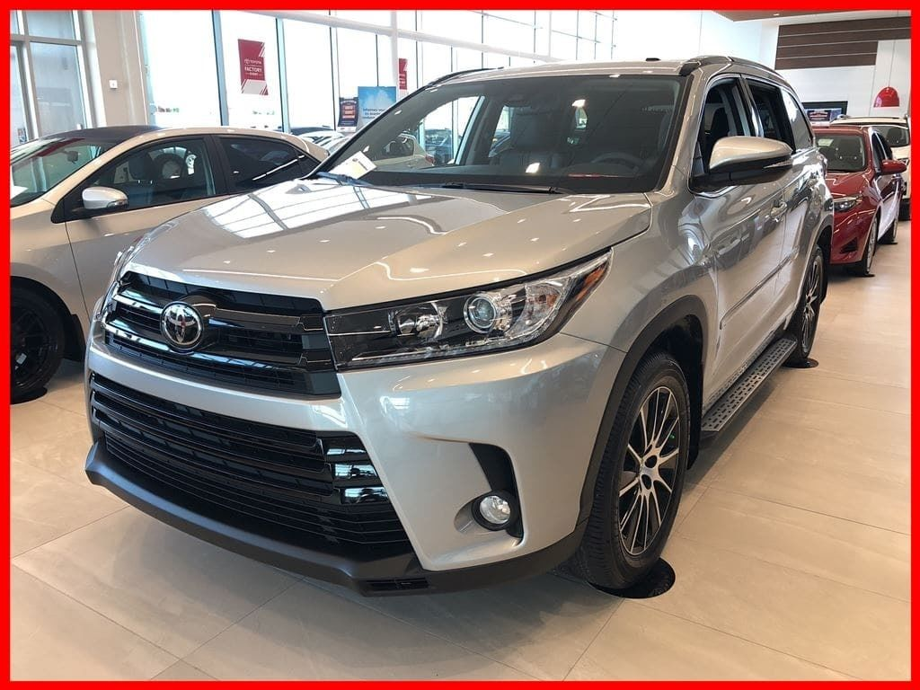 Toyota Certified Pre-Owned >> New 2018 Toyota Highlander XLE for sale in Lachine ...