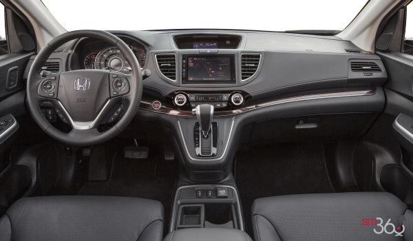 2015 Honda Cr V Black Leather