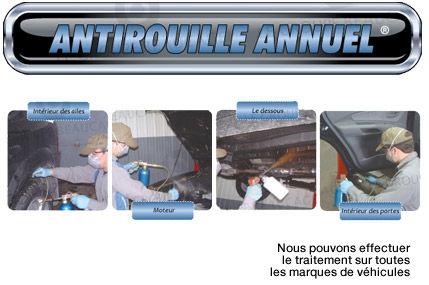 Forfait d'esthétique #12 - Antirouille annuel