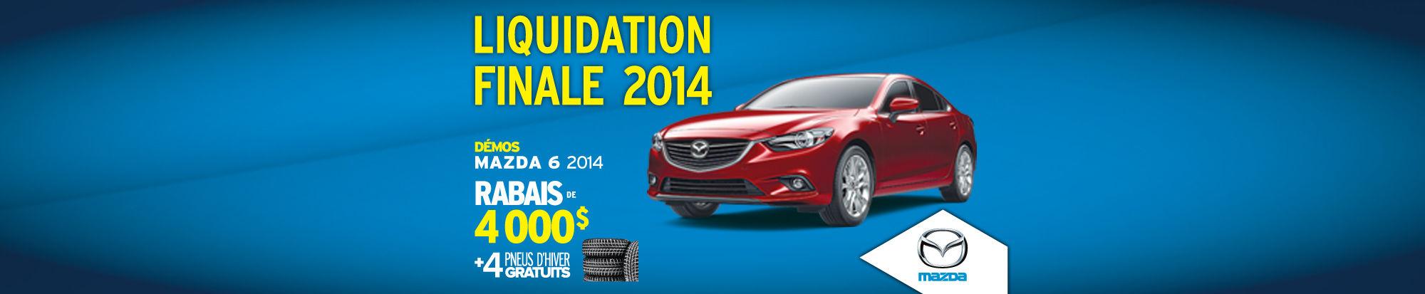 Mazda6 2014 liquidation