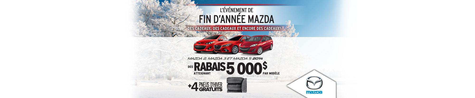 Derniers Mazda 2014