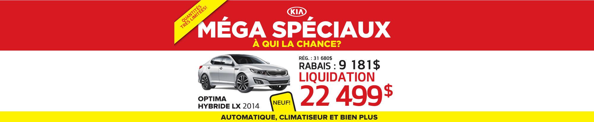 Optima lx hybride 2014