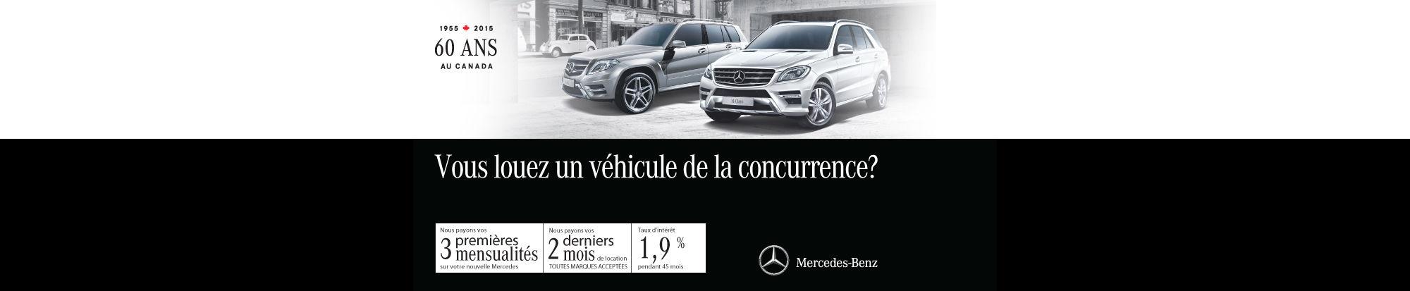 Événement mars Mercedes