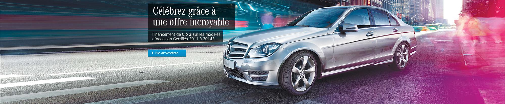 Mercedes certifiés