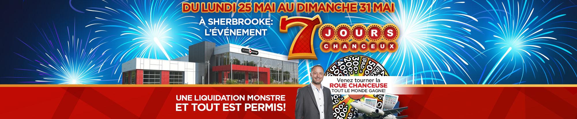 L'ÉVÉNEMENT « LES 7 JOURS CHANCEUX »