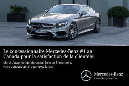 Le concessionnaire Mercedes-Benz #1 AU CANADA