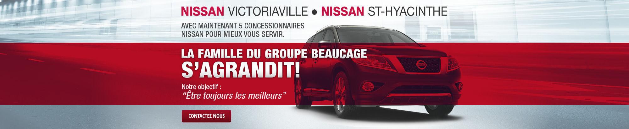 Nouveaux membres Nissan du groupe Beaucage
