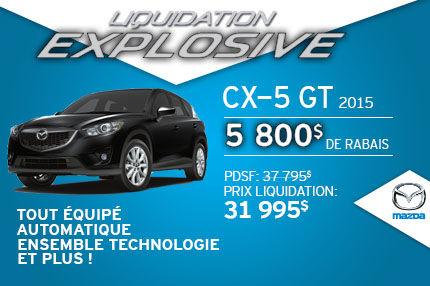 Liquidation explosive Mazda CX-5 GT