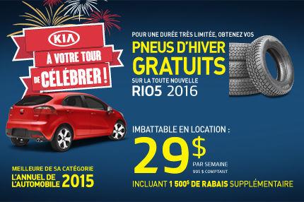 À votre tour de célébrer chez Kia - Rio5