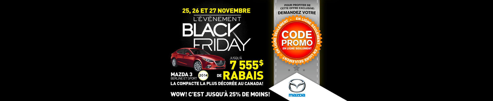 Mazda- Black Friday