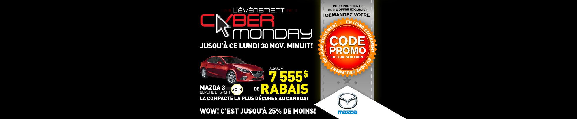 Mazda - Cyber Monday