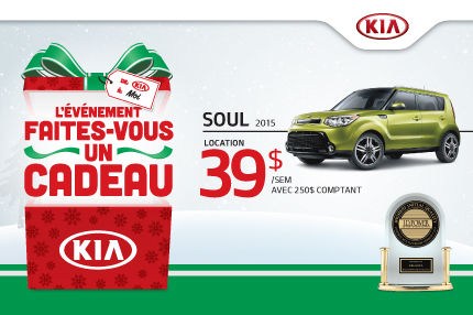 Faites-vous un cadeau avec un Kia Soul