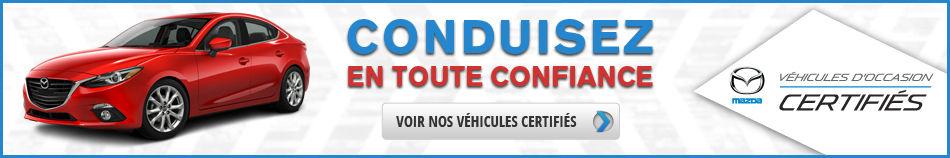 bannière certifiées - Mazda