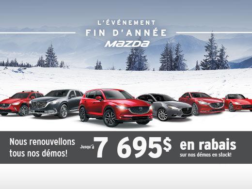 L'ÉVÉNEMENT FIN D'ANNÉE AU GROUPE BEAUCAGE MAZDA!