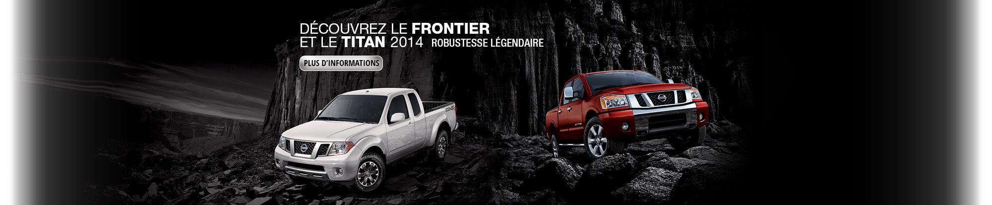 Frontier et Titan 2014