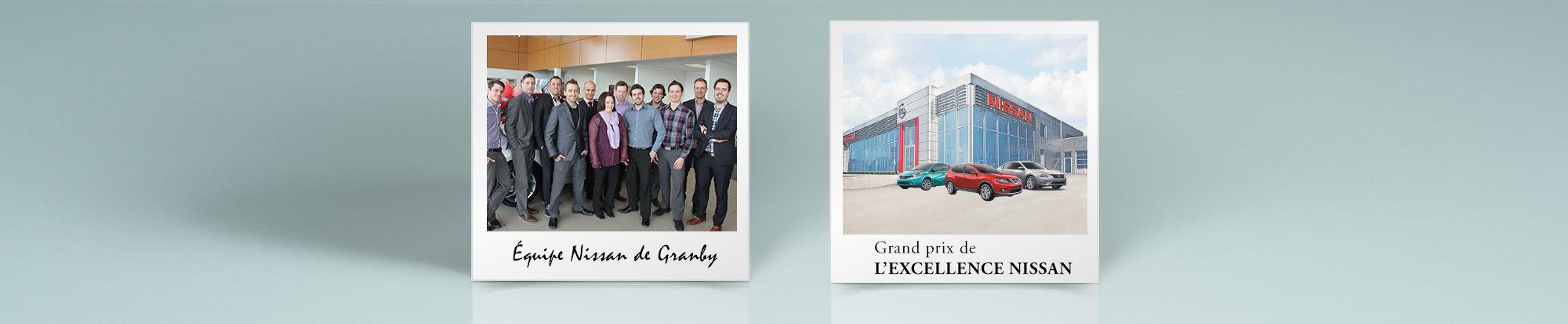 Nissan de Granby: Le Grand prix de l'excellence