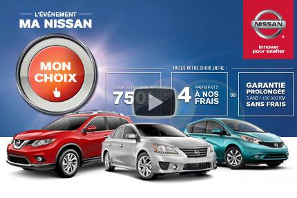 Ma Nissan mon choix