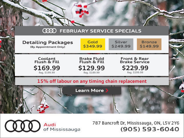 February Service Promotions