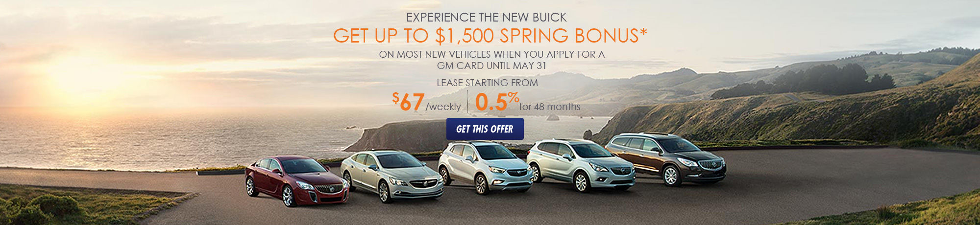 Experience the New Buick event!
