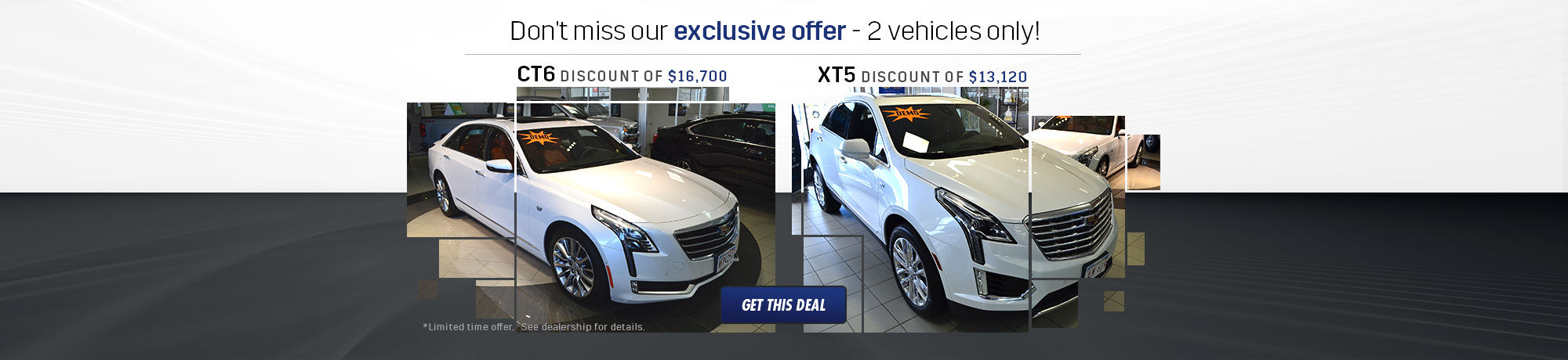 Deal CT6 and XT5