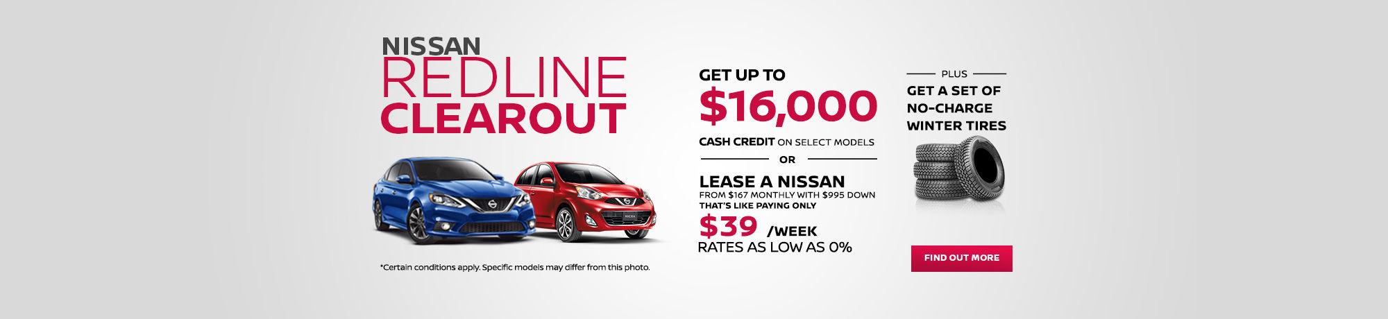 Nissan Redline Clearout - October