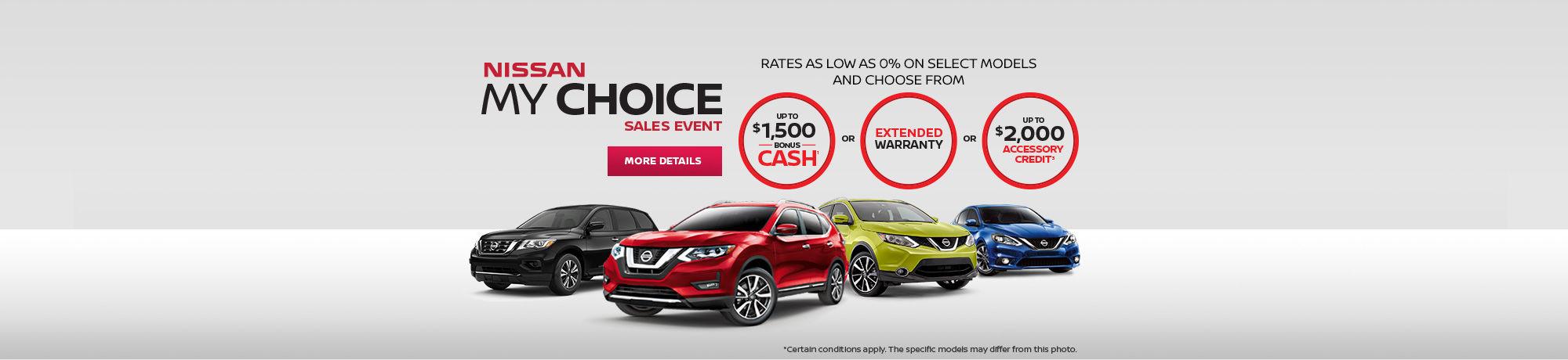 Nissan My Choice Event